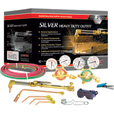 Gentec Silver Series Heavy-Duty Cutting and Welding Outfit — Oxyacetylene, 11-Piece Set, Model# 7130B The price is $379.99.