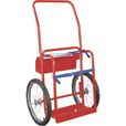 Northern Industrial Welders Hi-Axle Welding Cylinder Cart - 220-Lb. Capacity, Pneumatic Wheels, Powder-Coat Finish The price is $77.99.