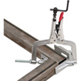 Strong Hand Tools Jointmaster Angle Clamping Tool — PL Series, Single-Hand Corner, 1 1/4in. Capacity, 3in. Throat, Model# PL634 The price is $29.99.