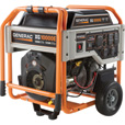 FREE SHIPPING — Generac XG10000E Portable Generator — 12,500 Surge Watts, 10,000 Rated Watts, Model# 5802 The price is $2,099.00.