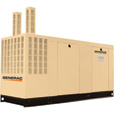 FREE SHIPPING — Generac Commercial Series Liquid-Cooled Standby Generator — 130 kW, 120/240 Volts, LP, Model# QT13068AVAC The price is $27,439.00.