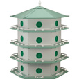 Heath Deluxe Purple Martin House — 24-Room, Model# AH-24D The price is $129.99.