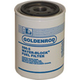 Goldenrod Replacement Water Block Spin-On Fuel Filter — Model# 5566120 The price is $19.99.