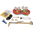 Northern Industrial Welders Medium-Duty Cutting and Welding Outfit — Oxyacetylene Victor-Style, 11-Piece Set The price is $179.99.