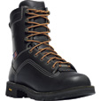 FREE SHIPPING — Danner Quarry 8in. Gore-Tex Waterproof Work Boots - Black, Safety Toe, EH, Size 10 Wide, Model# 173097D The price is $259.95.