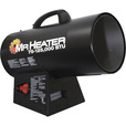 Mr. Heater Portable Propane Forced Air Heater with Quiet Burn Technology — 75,000 - 125,000 BTU, Model# MH125FAV
