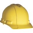 3M Hard Hat with Ratchet Adjustment — Yellow, Model# 91298-80025 The price is $9.99.