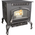 United States Stove Company Multi-Fuel Corn/Pellet Stove with Legs — 52,000 BTU, Model# 6041HF The price is $1,899.99.