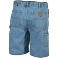 FREE SHIPPING - Gravel Gear Men's Denim Carpenter Shorts - 38in. Waist, Stonewash The price is $24.99.