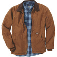 FREE SHIPPING - Gravel Gear Men's Washed Duck Chore Coat - Brown, Medium The price is $59.99.