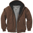 FREE SHIPPING - Gravel Gear Men's Hooded Tundra Jacket - Bark Brown, Medium The price is $55.99.