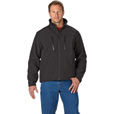 FREE SHIPPING — Gravel Gear Men's Water-Resistant Soft Shell Jacket — Black