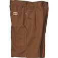 FREE SHIPPING - Gravel Gear Men's Duck Carpenter Short - Brown, 38in. Waist The price is $24.99.