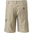 Gravel Gear Men's Ripstop Carpenter Work Shorts with Teflon - 38in. Waist, Khaki The price is $34.99.