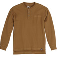 Gravel Gear Men's Warrior Henley Shirt with Teflon - Long Sleeve, Khaki, 3XL The price is $19.99.