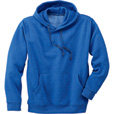 FREE SHIPPING — Gravel Gear Men's Moisture-Wicking Hooded Sweatshirt with Teflon Fabric Protector — Blue Heather, XL The price is $13.99.