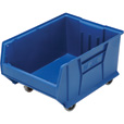 Quantum Storage 24in. Mobile Hulk Container — 23 7/8in.L x 18 1/4in.W x 15in.H Bin, Blue The price is $67.99.