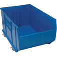 Quantum Storage 36in. Mobile Hulk Container — 35 7/8in.L x 23 7/8in.W x 18in.H Bin, Blue, Model# QUS998MOBL The price is $119.99.