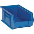Quantum Storage Heavy-Duty Ultra Stacking Bins — 13 5/8in. x 8 1/4in. x 6in. Size, Blue, Carton of 12 The price is $69.99.
