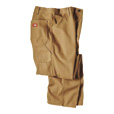 Dickies Men's 12-Oz. Duck Relaxed Fit Carpenter Pants - Brown, 38in. x 34in., Model# 1939RBD The price is $27.99.