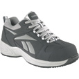 Reebok Men's Composite Toe EH Street Sport Jogger Oxford Shoes - Navy/Silver, Size 11 1/2, Model# RB1820