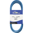 A & I Products Blue Kevlar V-Belt with Kevlar Cord — 89in.L x 1/2in.W, Model# A87K/4L890K The price is $16.99.