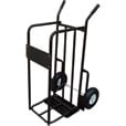 Northern Industrial Tools Convertible Log Cart and Hand Truck — 330-Lb. Capacity The price is $49.99.