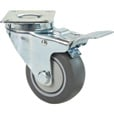 Fairbanks Swivel Total Locking Caster — 3in., Model# 14033022 The price is $16.49.