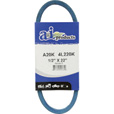 A & I Products Blue Kevlar V-Belt with Kevlar Cord — 22in.L x 1/2in.W, Model# A20K/4L220K The price is $4.99.