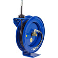 Coxreels Retractable Oil Hose Reel — 1/2in. x 25ft. Hose, 2500 PSI, Model# EZ-P-MP-425 The price is $389.99.