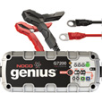 NOCO Genius Wicked Smart Multipurpose Battery Charger/Maintainer — 7.2 Amp, 12/24 Volt, Automatic, Model# G7200 The price is $99.95.