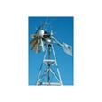 Outdoor Water Solutions Windmill Aerator — 20Ft., Galvanized, Model# AWS0013 The price is $1,499.99.