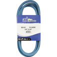A & I Products Blue Kevlar V-Belt with Kevlar Cord — 84in.L x 5/8in.W, Model# B81K/5L840K The price is $24.99.