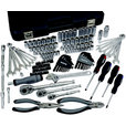 Klutch Mechanic's Socket Set — 162-Pc., 1/4in., 3/8in. & 1/2in. Drive The price is $139.99.