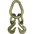 B/A Pear Link with 5/16in. Grab hooks — 4700-Lb. Safe Working Load, 2ft.L x 8in.W, Model# N711-8E The price is $19.99.