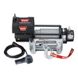 WARN 12 Volt DC Powered Electric Truck Winch — 8000-Lb. Pulling Capacity, Galvanized Steel Rope, Model# VR8000