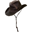 Men's Weathered Cotton Outback Hat - Brown, Medium, Model# MC127 The price is $29.99.