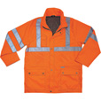 Ergodyne Men's Class 3 High Visibility Rain Jacket — Orange, Large, Model# 8365 The price is $89.99.