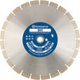 FREE SHIPPING — Husqvarna Wet/Dry Diamond Blade for Concrete — 14in. Diameter, Model# QH5 14in. The price is $64.99.