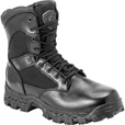 FREE SHIPPING — Rocky Men's 8in. AlphaForce Zipper Waterproof Duty Boot - Black, Size 12 Wide, Model# 2173 The price is $104.99.