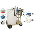 Liquidynamics 55-Gallon Diesel Exhaust Fluid System — 8 GPM 115 Volt Pump, Model# 51009C-S9A The price is $1,499.99.