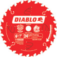 FREE SHIPPING — Freud Diablo Framing Saw Blade — 6 1/2in. x 24T, For Wood & Wood Composites, Model# D0624X The price is $10.99.