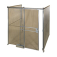 AK Quik-Fence Security Room — 16ft.W x 16ft.D x 8ft.H, 3-Sided, Model# AKQWK16168-3 The price is $1,499.99.