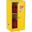 Sandusky Lee Compact Flammable Safety Cabinet — 23in.W x 18in.D x 35in.H, Model# SC12F