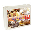 Medique 61-Pc. Portable First Aid Kit — OSHA, Model# 40061 The price is $12.99.