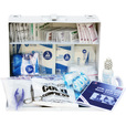 Medique 25-Person First Aid Kit — Metal Case, Meets ANSI Standards, Model# 818M25P The price is $21.99.