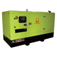 Pramac Commercial Standby Generator — 64 kW, 277/480 Volts, Perkins Engine, Model# GSW70P