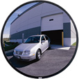 See All Outdoor Convex Safety Mirror — 30in. Dia., Acrylic, 35-Ft. View, Model# PLX030 The price is $149.99.
