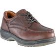 Florsheim Men's Steel Toe Lace-Up Oxford Work Shoes - Dark Brown, Size 9 1/2 Extra Wide, Model# FS2400 The price is $109.99.