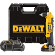 FREE SHIPPING — DEWALT 20 Volt Max Li-Ion Cordless Right-Angle Drill — 3/8in. Chuck, Model# DCD740C1 The price is $199.99.
